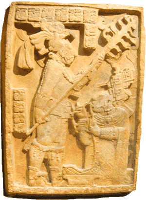 The Maya - Maya bloodletting carving
